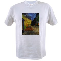 Van Gogh Cafe Terrace At Night Value T-shirt