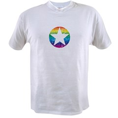 Rainbow Star Value T-shirt