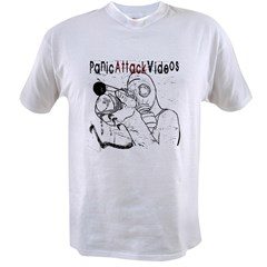 Gas Mask - Panic Attack Videos Value T-shirt