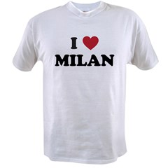 I Love Milan Value T-shirt