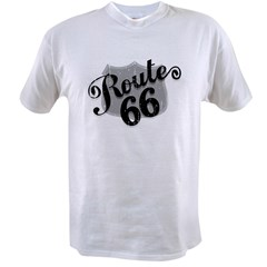 Route 66 Weatherboard Value T-shirt