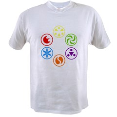 Legend of Zelda Spirit Medallions Value T-shirt
