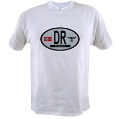 National Car Code Deutsche Reich 1933-1945 Value T-shirt