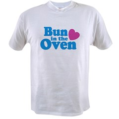 Bun in the Oven Ash Grey Value T-shirt