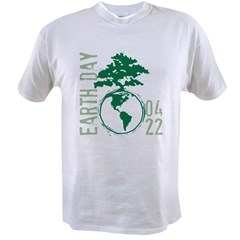 Earth Day 2012 Value T-shirt