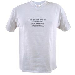 The Future Soon lyric Value T-shirt