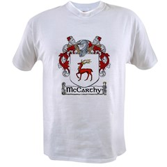 McCarthy Coat of Arms Value T-shirt