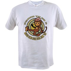 Proud To Be A Monkey Ash Grey Value T-shirt
