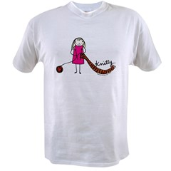 Tania Howells for Knitty Value T-shirt