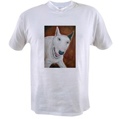 A Bull Terrier Ash Grey Value T-shirt