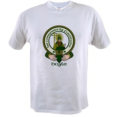 Doyle Clan Motto Value T-shirt
