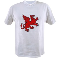 Red Griffin Value T-shirt