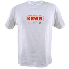 KEWB Oakland/San Fran 1959 - Ash Grey Value T-shirt