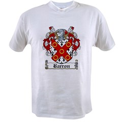 Barron Coat of Arms Value T-shirt