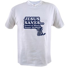 Jesus Saves Value T-shirt