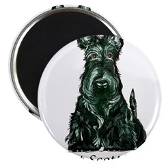 "got scotties trans 10x10.png 2.25"" Magnet (10 pack)"