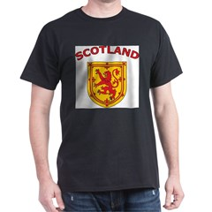 Scotland Ash Grey Dark T-Shirt