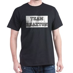 TEAM BRAXTON T-SHIRTS Ash Grey Dark T-Shirt