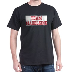 TEAM MADELEINE Ash Grey Dark T-Shirt