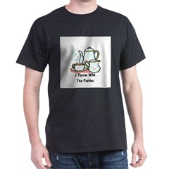 Wild Tea Parties Dark T-Shirt
