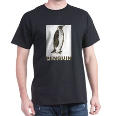 Vintage Penguin Dark T-Shirt