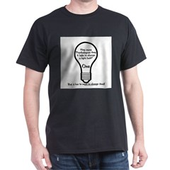 How Many Psychologists to Cha Dark T-Shirt