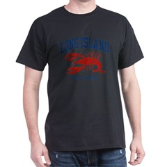 Long Island New York Dark T-Shirt