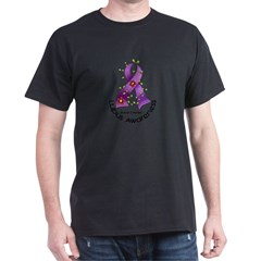 Flower Ribbon LUPUS Dark T-Shirt
