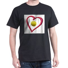 Love Tennis Dark T-Shirt