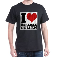 I Love Carlisle Cullen Dark T-Shirt