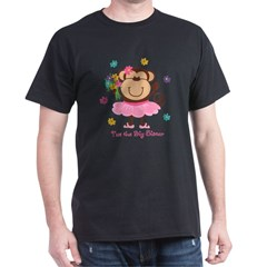 Monkey Big Sister Dark T-Shirt