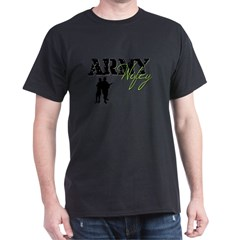 Designs of an Army Wifey Dark T-Shirt