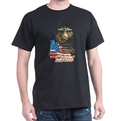 USMC Marine Dad - Dark T-Shirt
