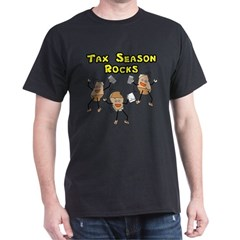 Tax Season Rocks Dark T-Shirt