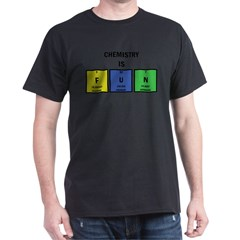 Chemistry is Fun Dark T-Shirt