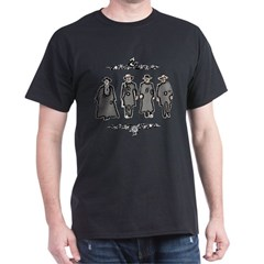 &quot;Lawmen or Outlaws&quot; Dark T-Shirt