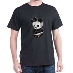 Sad Panda Dark T-Shirt