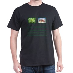 Cannabis Plant - Dark T-Shirt