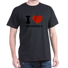 I love Gwendolyn Dark T-Shirt