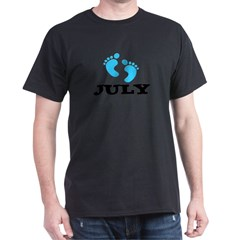 Due in July Dark T-Shirt