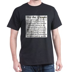 We the People US Dark T-Shirt