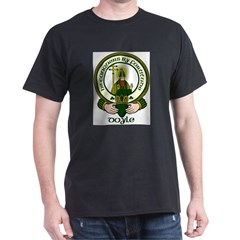 Doyle Clan Motto Dark T-Shirt