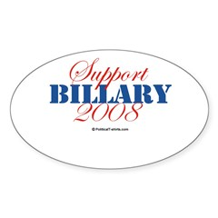 2008 Election Candidates Rectangle Sticker (Oval 50 pk)