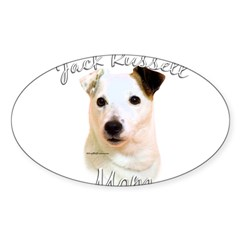 JRT Mom2 Rectangle Sticker (Oval 50 pk)