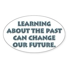 History Teacher Rectangle Sticker (Oval 50 pk)