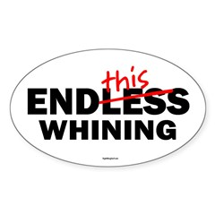 EndThis Whining Oval Sticker (Oval 50 pk)