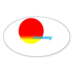 Jovanny Rectangle Sticker (Oval 50 pk)