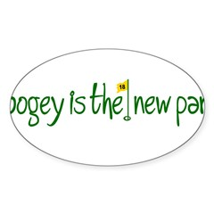 Bogey is the new Par Sticker (Oval 50 pk)