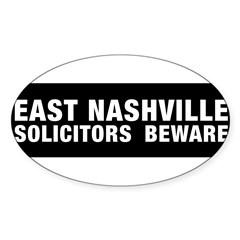 Solicitors beware Sticker (Oval 50 pk)