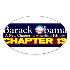 Chapter 13 Sticker (Oval 50 pk)